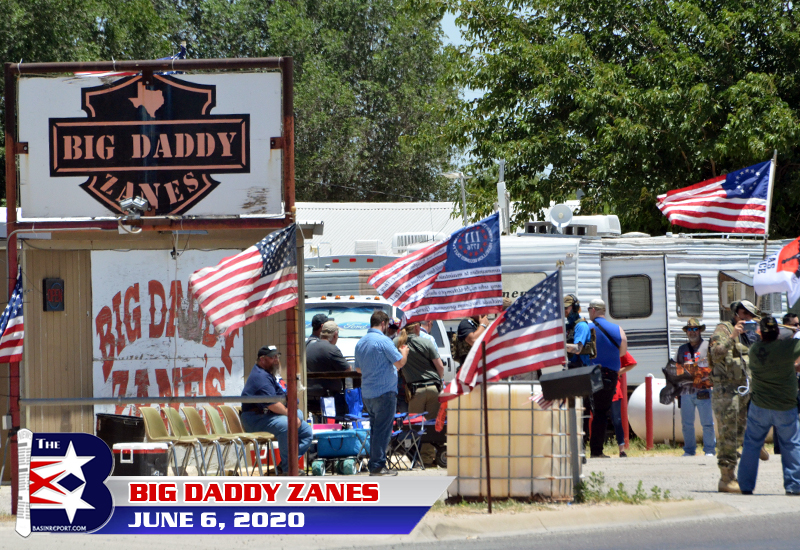 Open Carry Texas rally at Big Daddy Zane's